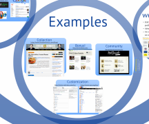 Screenshot of Blogging Prezi